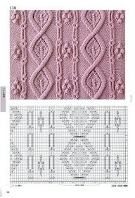 260 Knitting Pattern Book by Hitomi Shida 2016 — Yandex. Cable Knitting Patterns, Knitting Stiches, Knitting Charts, Lace Knitting, Knitting Designs, Knit Patterns, Knitting Projects, Stitch Patterns, Knit Crochet