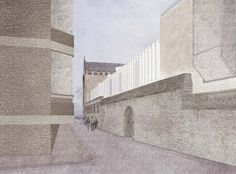 Oriel College design competition entry by Caruso St John