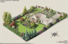 Projekt nowoczesnego ogrodu przydomowegoTreezone