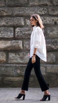 Simple white shirt...classic