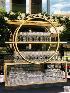 The VERY popular brass ring bar back! We love this bar back because it is super versatile. Dress it up or down!