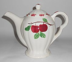 Blue Ridge Southern Pottery Autumn Apple Coffee Pot