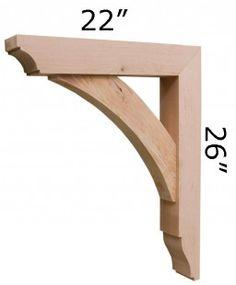Wood Bracket - nice shape.