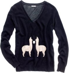Llama sweater...@Alyssa Knox
