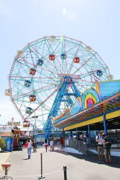 Coney Island #wonderwheel #brooklyn