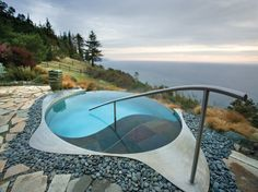 Spa Resort Pools That Make Us Feel Relaxed Just By Looking at Them: Photo: POST RANCH INN, BIG SUR Big Sur, California