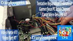 Nouvelle Vidéo YouTube Tentative Réparation Ordinateur Gamer/Jeux PC Intel Chipset Carte Mère Désuète #7 [LITE/FR/HD] Sur Crazyfreegeek =D #Repairing #Repair #Réparation #Ordinateur #Computer #PC #Intel #Chipset #MSI #Motherboard #Cartemère #Informatique #Gamer #Gamerpc #PCgamer #Antec #AMD #Nvidia #Tech #Geek #YouTube #Crazyfreegeek #CrazyfreegeekPlus  https://youtu.be/o6_Eu0OZzMs