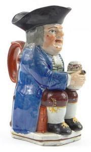 Enoch Wood Trafalgar style jug