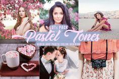 Cute pastel LUTS for grading your videos and photos! They work with most video and photo editing programs such as Final Cut Pro, Adobe Premiere Pro, Photoshop, After Effects, DaVinci Resolve, Sony Vegas, Luminar, Wondershare Filmora, Pinnacle Studio, Luminar, Video LUT (iOS), LumaFusion (iOS), 3DLUT mobile (iOS/Android) and more. #videoluts #videopresets #videofilters #cinematicluts Video Filter, Font Digital, Invitation Fonts, Wedding Presets, Color Grading, Adobe Premiere Pro, Color Filter, Color Correction, Photo Editing