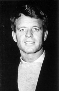 *ROBERT F. KENNEDY - I know the brothers resembled each other but I really see, in this photo, how much RFK resembled JFK.............