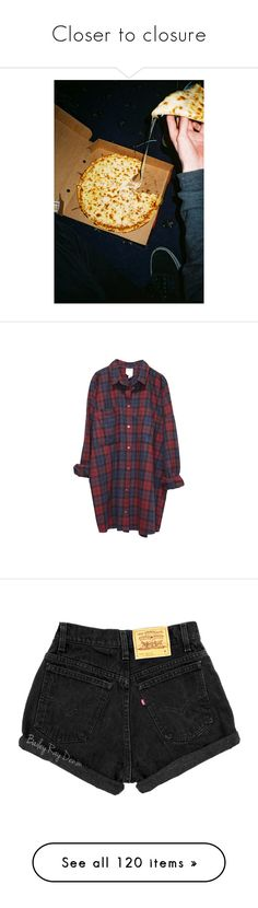 """""""Closer to closure"""" by thelyricsmatter ❤ liked on Polyvore featuring pictures, photos, food, pics, photography, tops, shirts, dresses, flannels and monki"""