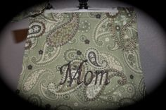 Valentines Day Gift for Mom! Personalized Embroidered Apron