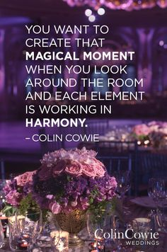 Wedding Wisdom from Colin Cowie