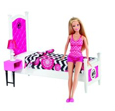 Amazon has some cute playsets from the Deluxe series that I've already shown you last year. They have better pictures than Entertainment Earth so I thought I would share. I really do enjoy this series and I hope Mattel will continue with it. Deluxe Bedroom Love the style of the furniture but that