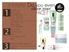 """""""Do you even clean your face?"""" by eirini-kastrou on Polyvore"""