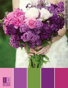 Tis the Last Rose of Summer | Color Blocks Design