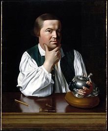 "Paul Revere (December 21, 1734 – May 10, 1818)[N 1] was an American silversmith, early industrialist, and a patriot in the American Revolution. He is most famous for alerting Colonial militia of approaching British forces before the battles of Lexington and Concord, as dramatized in Henry Wadsworth Longfellow's poem, ""Paul Revere's Ride."""