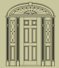 Classic Door Design classic white interior Elegant Classic Door Design Colonial Door Designs Door Sidelights Transom Colonial Entry Door
