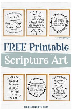 Printable Bible Verses, Scripture Art, Printable Wall Art, Bible Verse Wall Art, Bible Scripture Tattoos, Chalkboard Bible Verses, Family Bible Verses, Scripture Lettering, Christmas Bible Verses