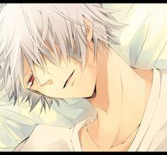 Tags: SQUARE ENIX, Pandora Hearts, Xerxes Break, Mochizuki Jun, Laying On Bed, Pixiv Id 597289
