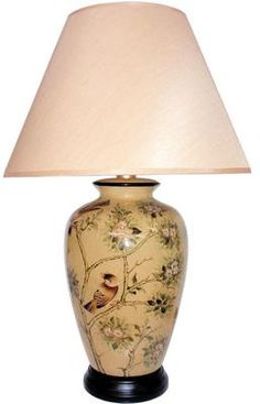 Avonmore starfish night light table lamp set of 2 style 11r56 oriental table lamp with birds and blossom needs a better shade aloadofball Choice Image