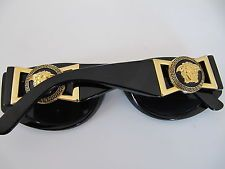 Vintage Gianni Versace Sunglasses Mod. 424/M Col. 852 Medusa ITALY Orig Case//  versace 80s/90s= pERFECTION