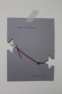 Prix: Carte+enveloppe+bracelet modèle cordon élastique  8.50€ ttc + port  Prix: Carte+enveloppe+bracelet modèle cordon ciré          9.50€ ttc + port