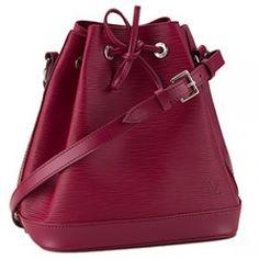 Louis Vuitton Noe BB Epi Deep Red Drawstring Bag