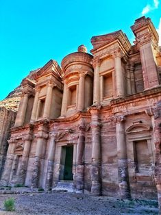 Petra, Jordan - what you need to know before visiting - Go Restless New Seven Wonders, Rose City, World Heritage Sites, Petra, Mansions, House Styles, Travel, Futuristic Architecture, Architecture