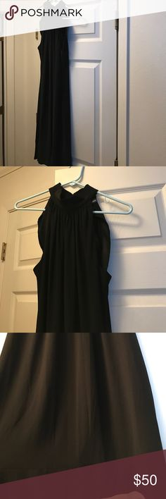 Black cocktail dress high neck WORN ONCE PERFECT CONDITION Dresses Midi