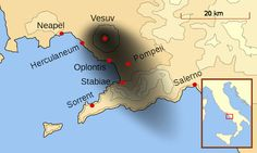 Der Ausbruch des Vesuvs im Jahre 79 n.Chr.