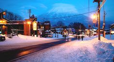 """Niseko, Japan's leading ski resort, where the snowflakes are """"large enough to cast shadows"""""""
