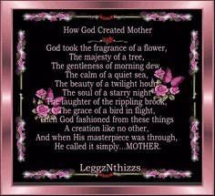 Dear God Poems | Mother Acronym Poem http://www.eteddybear.co.uk/events/how-god-created ...