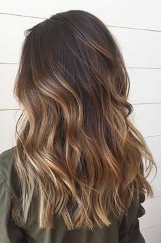 49 Beautiful Light Brown Hair Color To Try For A New Look Gorgeous Balayage Hair. - - 49 Beautiful Light Brown Hair Color To Try For A New Look Gorgeous Balayage Hair Color Ideas - brown Balayage Highlights,Beachy balayage hair color Brown Hair Looks, Light Brown Hair, Dark Brown To Light Brown Ombre, Pretty Brown Hair, Brown Shades, Color Shades, Brown Hair Balayage, Hair Color Balayage, Blonde Highlights