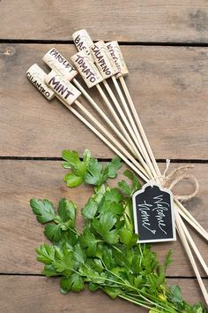 Wine Corks - Wine Cork Garden Markers as a Welcome Home Gift | Cambria Wines