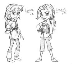 Pirate Girl concepts by tombancroft.deviantart.com on @deviantART