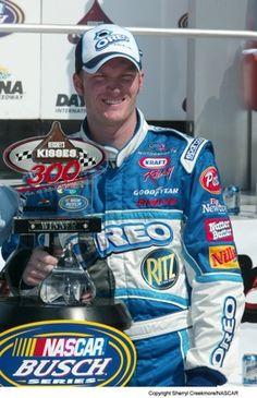 Dale Earnhardt Jr. Busch trophy