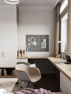 Modern Home Office Design Ideas For Inspiration - HomyBuzz Interior Design Atlanta, Interior Design Pictures, Office Interior Design, Office Interiors, Room Interior, Home Office Space, Home Office Decor, Home Decor, Office Ideas
