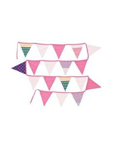 Kids Anja Bunting from Linen House's Hiccups range, available at Forty Winks.