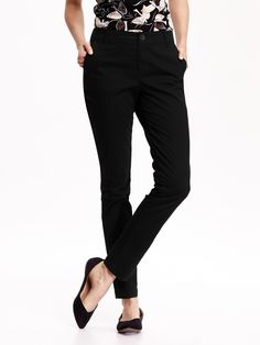 Mid-Rise Skinny Khaki Pant for Women | Old Navy
