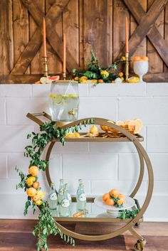 Citrus-inspired wedding styled shoot at Old Homestead Farm on the coast of North Carolina with oranges, lemons, peaches and greenery. Photo by Chelsea Allegra Photography. Bespoke Wedding Invitations, Elegant Invitations, Wedding Stationary, Farm Wedding, Summer Wedding, Garden Wedding, Wedding Blog, Homestead Farm, Dusty Blue Weddings
