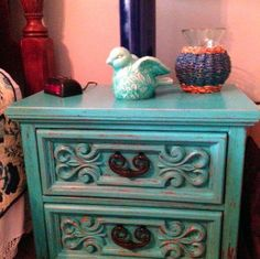Old Nightstand brought back to life