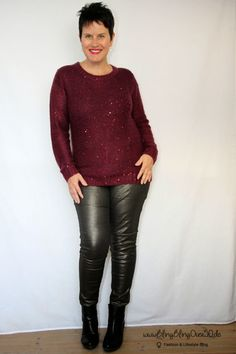 Outfit im Metallic-Look 2