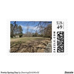 Pretty Spring Day Postage