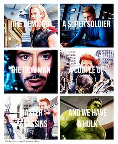 The Avengers  hahaha this was one of my favorite parts