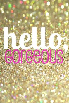 Hello Gorgeous digital print by RebeccaHDesigns on Etsy, $5.00