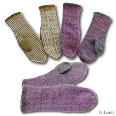 Chain + Finull er også sant :-) - StrikkeBea Yarn Needle, Mittens, Ravelry, Knit Crochet, Diy And Crafts, Slippers, Socks, Knitting, Fashion