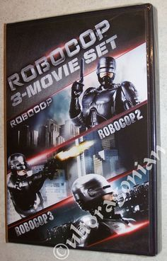 ROBOCOP 1 2 & 3 DVD Movie Collection Trilogy 3-Disc Set 1-3 BRAND NEW Ships FREE