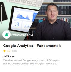 Discover Google Analytics from the ground-up with this training program. In this course, you'll learn how to harness the power of Google Analytics, get the most out of the data you collect, and discover all that you can do within Google Analytics. Get a grip on what you can do inside of Google Analytics in this 12-lesson course. This course is great for all skill levels. You don't need to have any prior knowledge or experience with Google Analytics, and if you do have experience,... Google Analytics Certification, Existing Customer, What You Can Do, Training Programs, Digital Marketing, Knowledge, Teaching, Business, Ticket