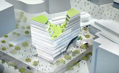 Hangzhou Gateway Tower--http://www.archdaily.com/141536/hangzhou-gateway-tower-jds-architects/